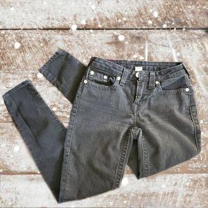 True Religion Black Curvy Skinny Jeans